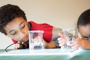 Children Learning Science